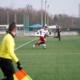 Erik Kirst im Testspiel gegen Pirna