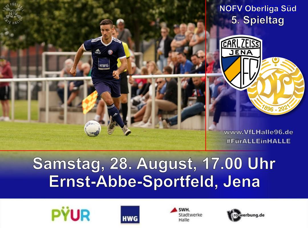 Auswärtsspiel in Jena