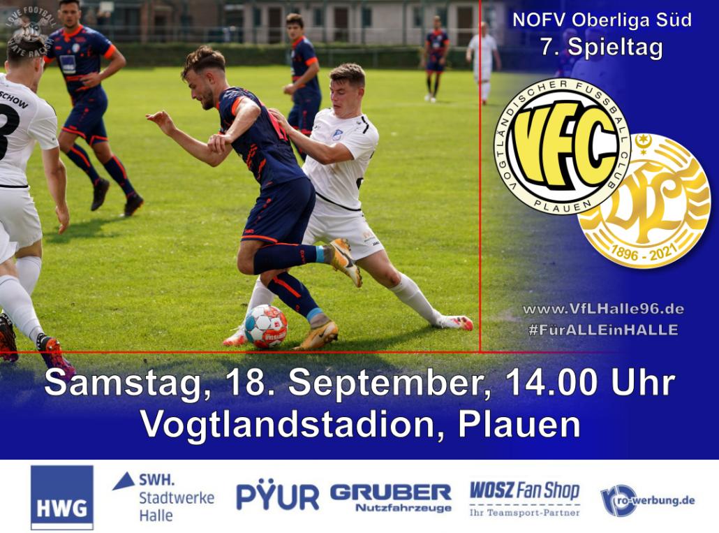 Spielankündigung Plauen - VfL Halle 96